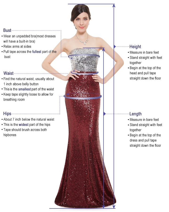 dress how to measure