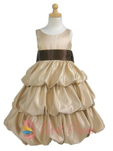 Flower Girl Dresses Champagne, Flower Girl Dresses Cheap