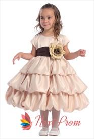 Flower Girl Dresses For Toddlers, Flower Girl Dresses Champagne
