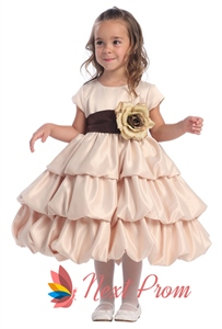 Flower Girl Dresses For Toddlers, Flower Girl Dresses Champagne