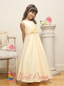 Flower Girl Dresses For Less, Champagne Flower Girl Dresses