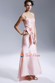 Pearl Pink Prom Dresses 2019, Mermaid Prom Dresses With Straps