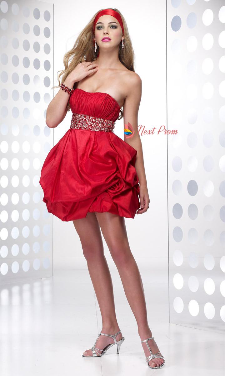 Short Red Dresses Women