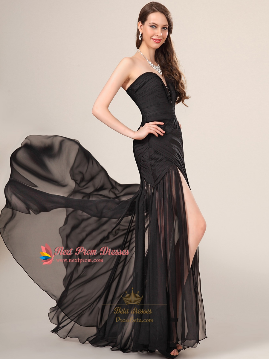 Find great deals on eBay for long black dress side slits. Shop with confidence.