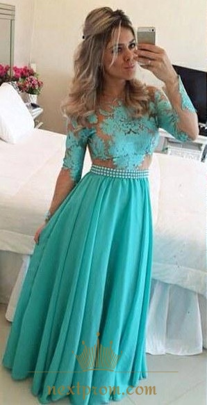 Tiffany Blue for Prom