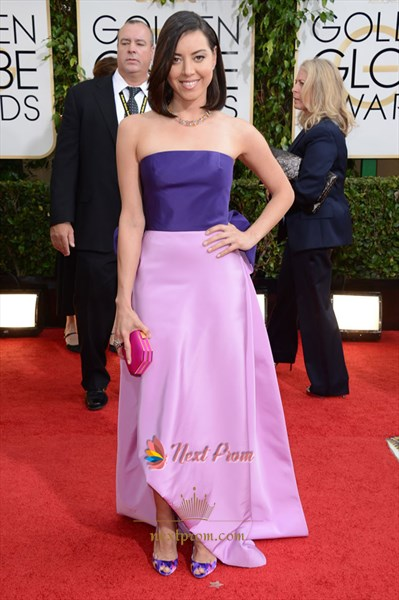 Aubrey Plaza Golden Globes 2019 Dress