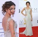 Sarah Hyland Emmy Dress 2021,Emmys 2021 Embroidered Prom Dress Red Carpet Dresses