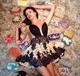 Sheer Knee Length Sleeveless Lace Homecoming Dress With Beaded Bodice