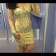 Sheer Long Sleeve Knee Length Embellished Beaded Chiffon Bodycon Dress