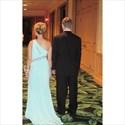 One Shoulder Chiffon Bead Embellished Long Bridesmaid Dress With Slit
