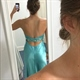 Strapless Beaded Embellished Mermaid Long Prom Dress With Ruched Top