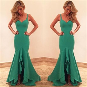 Elegant Sleeveless Sweetheart Neckline Drop Waist Mermaid Prom Dress