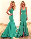 Elegant Sleeveless Sweetheart Neckline Drop Waist Mermaid Prom Dress